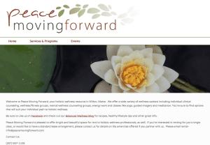 Peace Moving Forward Website Screenshot